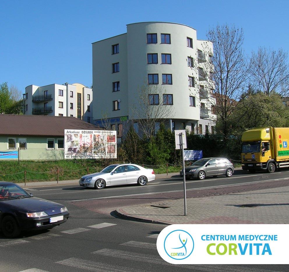 Budynek Centrum Medycznego Corvita